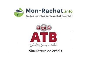 Faire une simulation de crédit ATB