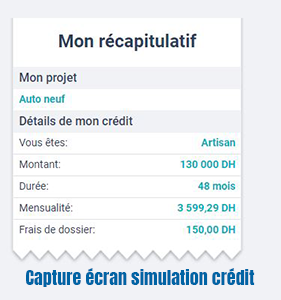 simulateur wafasalaf en ligne