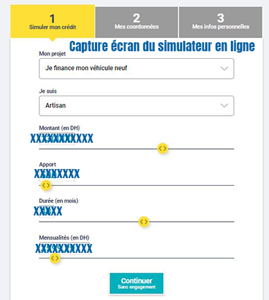 simulation credit wafasalaf en ligne